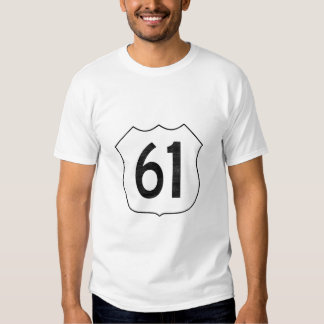 U.S. Highway 61 Route Sign Shirts