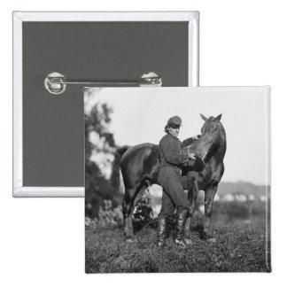 U.S. Horse Artillery, 1863 15 Cm Square Badge