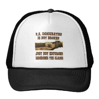 U.S. Immigration - Not Broken Just Not Enforced Mesh Hat