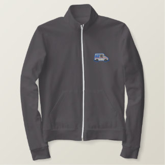 U.s. Mail Truck Embroidered Jacket
