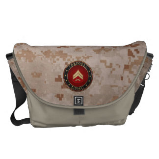 U.S. Marine Corporal 3D Rank Insignia Courier Bag