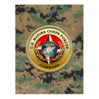 U.S. Marine Corps Forces Command (MARFORCOM) [3D] Postcard
