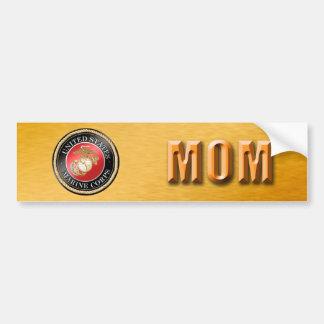 U.S. Marine Corps Mom Bumper Sticker