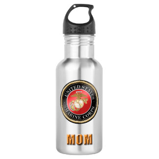 U.S. Marine Corps Mom Water Bottle