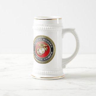 U.S. Marine Corps (USMC) Emblem [3D] Beer Stein