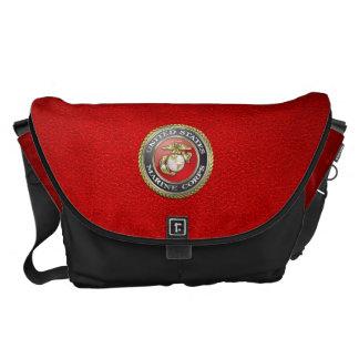 U.S. Marine Corps (USMC) Emblem [3D] Commuter Bag