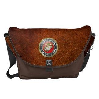 U.S. Marine Corps (USMC) Emblem [3D] Courier Bag