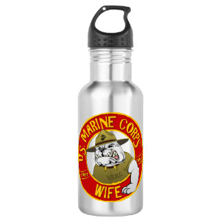 U.S. Marine Corps Wife 532 Ml Water Bottle