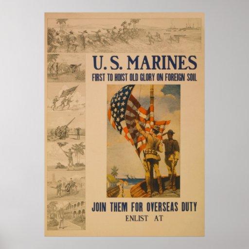 U.S. Marines: 1913 - Poster