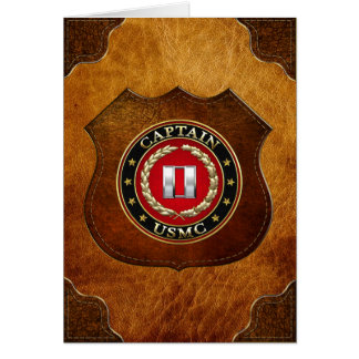 U.S. Marines: Captain (USMC Capt) [3D] Card