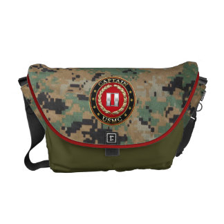 U.S. Marines: Captain (USMC Capt) [3D] Commuter Bag