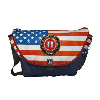 U.S. Marines: Captain (USMC Capt) [3D] Courier Bag