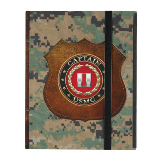 U.S. Marines: Captain (USMC Capt) [3D] iPad Cover