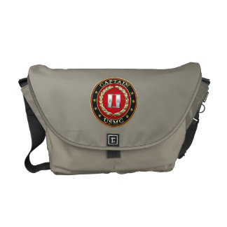 U.S. Marines: Captain (USMC Capt) [3D] Messenger Bag