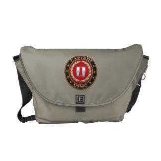 U.S. Marines: Captain (USMC Capt) [3D] Messenger Bag