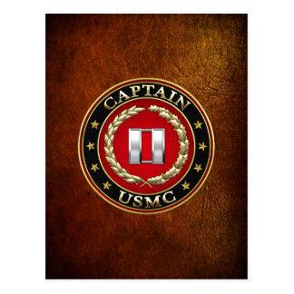 U.S. Marines: Captain (USMC Capt) [3D] Postcard