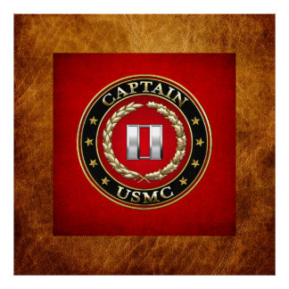 U.S. Marines: Captain (USMC Capt) [3D] Poster