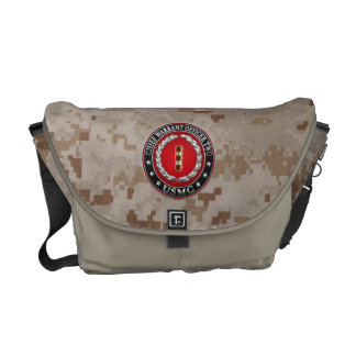 U.S. Marines: Chief Warrant Two (USMC CWO-2) [3D] Courier Bags