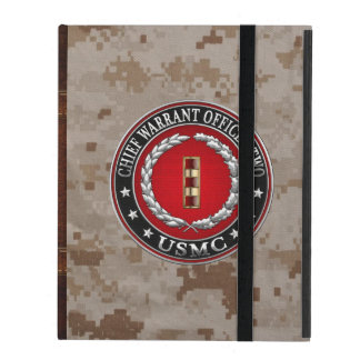 U.S. Marines: Chief Warrant Two (USMC CWO-2) [3D] iPad Case