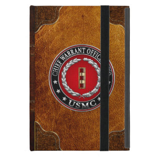 U.S. Marines: Chief Warrant Two (USMC CWO-2) [3D] iPad Mini Case