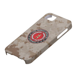 U.S. Marines: Chief Warrant Two (USMC CWO-2) [3D] iPhone 5 Cases