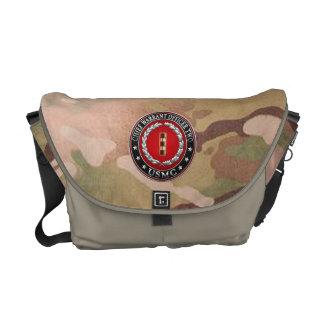 U.S. Marines: Chief Warrant Two (USMC CWO-2) [3D] Messenger Bag