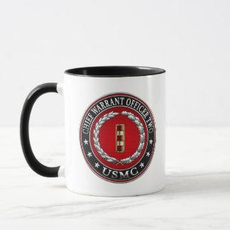 U.S. Marines: Chief Warrant Two (USMC CWO-2) [3D] Mug