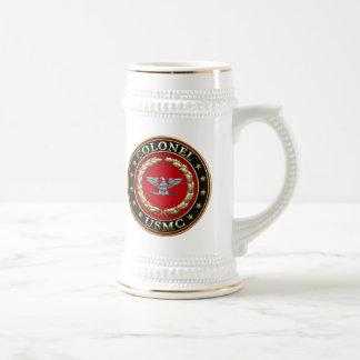 U.S. Marines: Colonel (USMC Col) [3D] Beer Stein