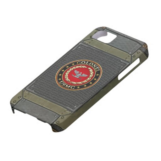 U.S. Marines: Colonel (USMC Col) [3D] Cover For iPhone 5/5S