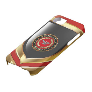 U.S. Marines: Colonel (USMC Col) [3D] iPhone 5 Covers