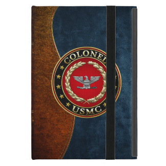 U.S. Marines: Colonel (USMC Col) [3D] Case For iPad Mini