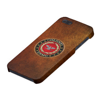 U.S. Marines: Colonel (USMC Col) [3D] Case For iPhone 5/5S