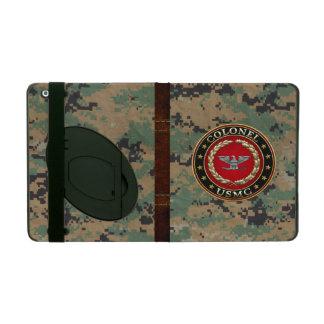 U.S. Marines: Colonel (USMC Col) [3D] Cases For iPad
