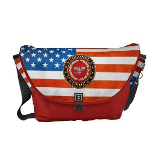 U.S. Marines: Colonel (USMC Col) [3D] Commuter Bags