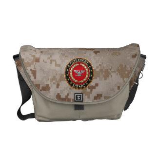 U.S. Marines: Colonel (USMC Col) [3D] Courier Bag