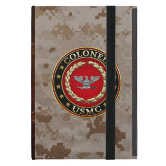 U.S. Marines: Colonel (USMC Col) [3D] Cover For iPad Mini