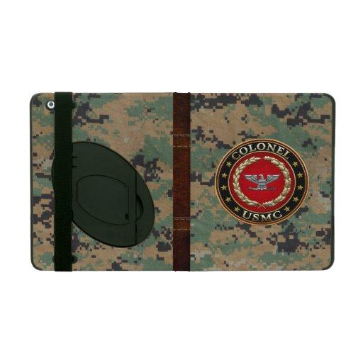 U.S. Marines: Colonel (USMC Col) [3D] iPad Folio Cases