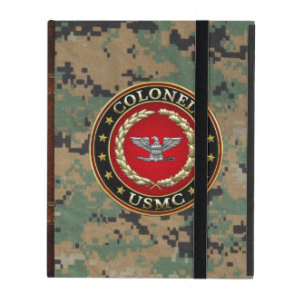 U.S. Marines: Colonel (USMC Col) [3D] iPad Cover