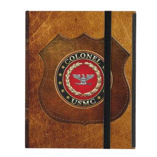 U.S. Marines: Colonel (USMC Col) [3D] iPad Folio Case