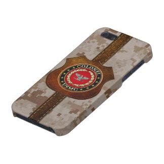 U.S. Marines: Colonel (USMC Col) [3D] iPhone 5/5S Cases