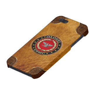U S Marines Colonel USMC Col 3D iPhone 5 Cases
