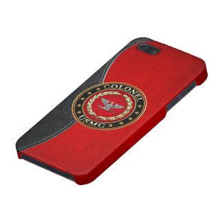 U S Marines Colonel USMC Col 3D iPhone 5/5S Cover