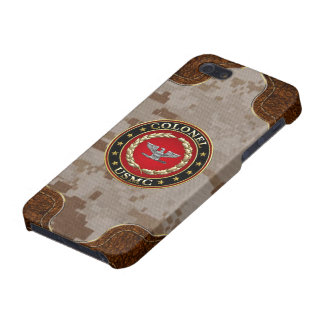 U S Marines Colonel USMC Col 3D Covers For iPhone 5