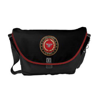 U.S. Marines: Colonel (USMC Col) [3D] Messenger Bag