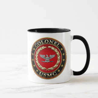 U.S. Marines: Colonel (USMC Col) [3D] Mug