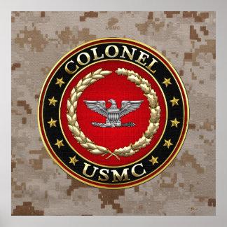 U.S. Marines: Colonel (USMC Col) [3D] Print