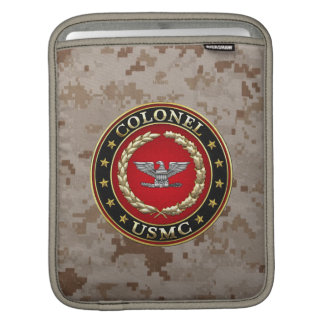 U.S. Marines: Colonel (USMC Col) [3D] Sleeve For iPads