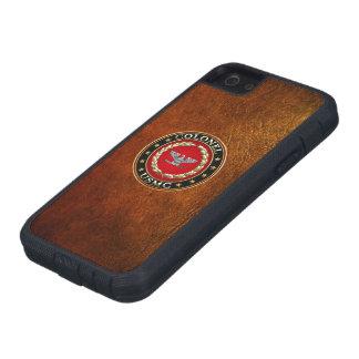 U.S. Marines: Colonel (USMC Col) [3D] Tough Xtreme iPhone 5 Case
