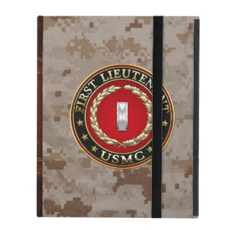 U.S. Marines: First Lieutenant (USMC 1stLt) [3D] iPad Case