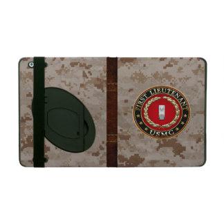 U.S. Marines: First Lieutenant (USMC 1stLt) [3D] iPad Case
